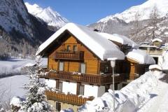 Haus Marienheim im Winter